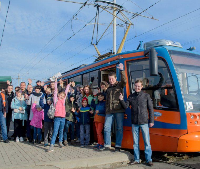 На трамвае по старому Краснодару