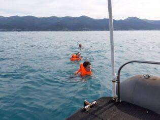 09 плавание в море