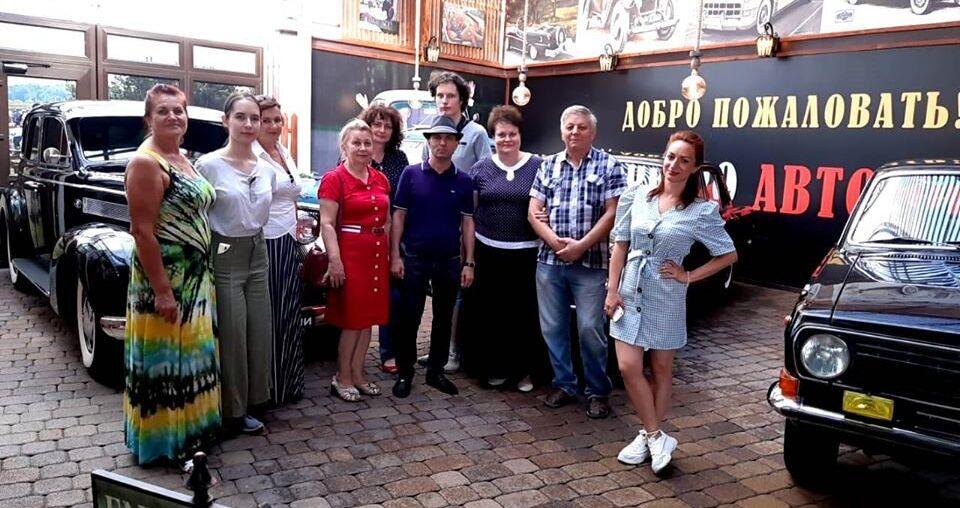 Елена Перетриева о музее ретро-автомобилей